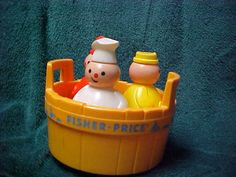 three men in a tub! - my lil sisters LOVED this toy <3