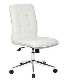 Look at this White Modern Office Chair