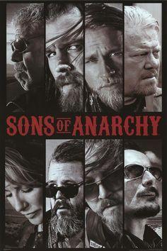 Sons of Anarchy Collage, TV Show Poster Serie Sons Of Anarchy, Sons Of Anarchy Samcro, Movies Showing, Movies And Tv Shows, Sons Of Anarchy Motorcycles, Jax Teller, Gemma Teller, Great Tv Shows, Star Wars