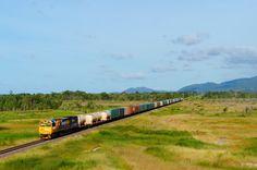 Los trenes de Australia llegan hasta el infinito