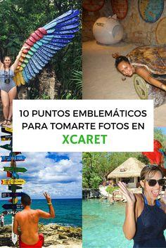 Los mejores puntos de fotos en Xcaret. Tulum, Cancun Outfits, Mayan Cities, Riviera Maya, Quintana Roo, Tropical Beaches, Photos Tumblr, Cancun Mexico, Foto Pose