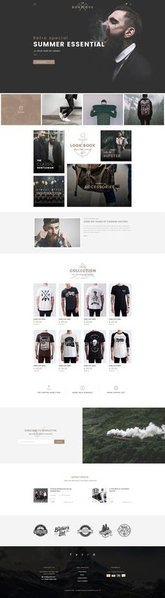 Modern Ecommerce Website Theme #WEBDESIGN #ECOMMERCE - Love a good success story? Learn how I went from zero to 1 million in sales in 5 months with an e-commerce store.