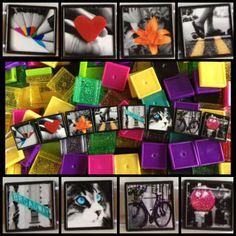 Day 9: Rainbow Pop Photo Bracelet! Get artistic at http://friendship-bracelet-blog.myfbm.com/rainbowchallenge/day-9/ and post yours #myfbm #rainbowchallenge to win!
