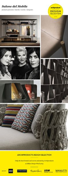 Salone del Mobile 2015 - Design selection. Only the best brands and events selected by Archiproducts at Milan Design Week 2015