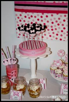 "Photo 14 of 34: Minnie Mouse / Birthday ""Cata's Minnie Mouse Birthday Party"" | Catch My Party"
