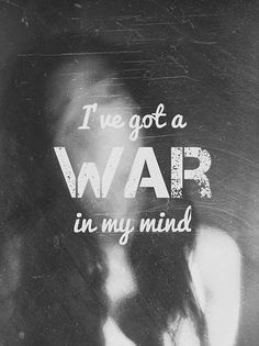 It honestly feels like it..... My thoughts are going crazy, Jealousy, love, anger, hate, heart ache.... Im going to rip my hair out soon, Why in the heck is my mind doing this? Something subconscious is going on and I cannot tell what it is...