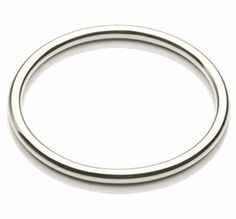 Solid white Gold 3 round Golf Bangle weighing 36 grams for sale direct from the manufacturers Newburys making stunning Gold Bangles from the UK Silver Bangles, Silver Jewelry, Solid Gold Bangle, Halo Rings, White Gold, Jewels, Sterling Silver, Golf, Cuffs