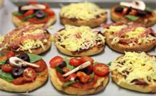 Muffin Pizza Recipe - After school snacks