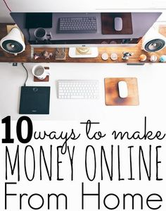 10 Ways To Make Money At Home Online - Make Side Money. Are you interested in learning how to make money online? In this post I will show you 10 different ways to make money online that YOU may be able to do. Make Side Money, Make Money From Home, Make Money Online, Online Earning, Money Tips, Money Saving Tips, Home Based Business, Saving Ideas, Work From Home Jobs