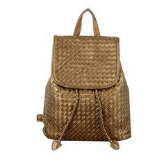 Comprar mochilas de cuero genuino de calidad superior para mujeres bolso de bandolera tejida [AL93022] - €96.81 : bzbolsos.com, comprar bolsos online