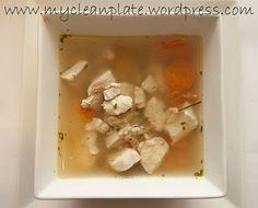 Lemon Chicken & Rice Soup (Low Fodmap, Gluten Free, Dairy Free)