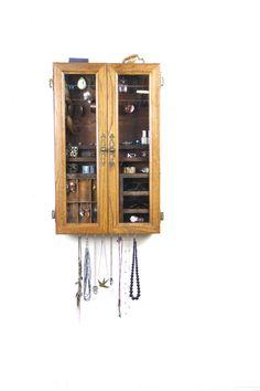 jewelry organizer jewelry storage  jewelry holder by TANGLeAndFoLd
