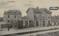 Station Schaesberg Netherlands, Dutch, Louvre, Mansions, History, House Styles, Building, Doa, Trains