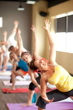 The teacher would call on them by name, give them personalized modifications based on their lower-back pain or overextended hamstrings, and chat with them about their grandchildren. None of them jumped back to chaturanga or did handstands in the middle of their vinyasas, because we didn't do vinyasas; we just held poses for a long time.