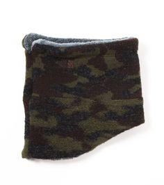 Camouflage Wool Fleece Neck Warmer