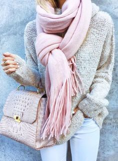 Another favorite color palette Neutrals and blush pink