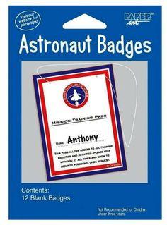 junior astronaut badge - photo #21