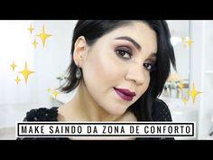 Muito Glitter!!   Make Saindo da Zona de Conforto - YouTube