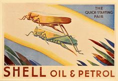 Vintage Shell Oil ad