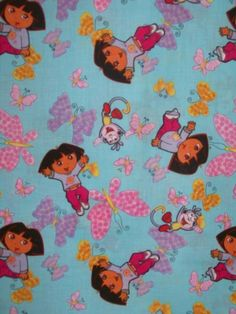 Dora the Explorer clearance scrub top