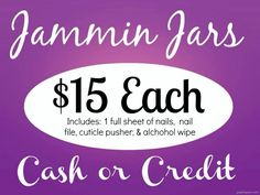 Jammin Jamberry Nail Wrap Jars! A Jamicure in a jar is sure to be one of the best gifts that special person in your life gets! Order your wraps today! dominguezdesiree.jamberrynails.net