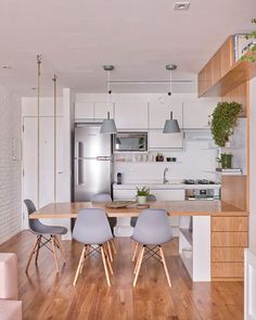 most popular small kitchen design ideas to save space your home page 20 Kitchen Interior, Home Decor Kitchen, House Design, Kitchen Design Small, Home, Kitchen Decor, House Interior, Home Kitchens, Kitchen Design