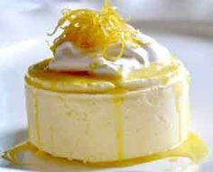 Frozen Lemon Mousse Dessert from the Kosher Cowboy Lemon Desserts, Mini Desserts, Frozen Desserts, Just Desserts, Dessert Recipes, Lemon Mousse, Mousse Cake, Mousse Dessert, Mini Cakes