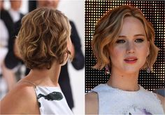 Messy, Curly Hairstyle with Short Hair - Best Cuts for Round Face