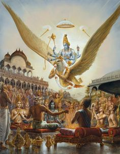 Vimana's (spelling?) ancient gods flying in air crafts...