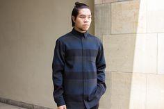 Libertine-Libertine – Beast Shirt (black/ grey/ navy) #Streetwear #LibertineLibertine #SUPPA #MRQT