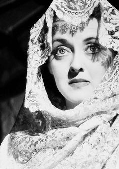 Bette Davis in 'The Letter', 1940 - Davis dominated the screen, we can see where Kim Carnes song, 'Bette Davis Eyes' was inspired from -