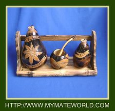 Complete Yerba Mate set to be HUNG! One of a Kind!