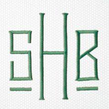Matouk monogram style H262