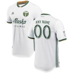 Be Portland Timbers's fan with this Diego Chara Authentic Player Jersey from adidas. This jersey features bold team graphics and adizero fabric technology that will keep you looking your best as your Portland Timbers take the pitch. Blanco White, Portland Timbers, Soccer World, Adidas Men, Plus Size, Blame, Scream, Squad, Crisp