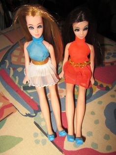 1970s Topper Dawn and Angie Dolls by Artsefrtse on Etsy, $45.00