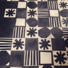 floor by Bisazza in Paola Navone's Italian Kitchen for IKEAtemporary