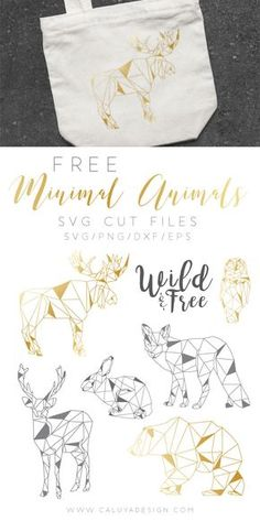 Free Geometrical Minimal Animal SVG cut files, compatible with Cricut, Cameo Silhouette and other major cutting machines. DXF, PNG and EPS files inclu Machine Silhouette, Plotter Silhouette Cameo, Silhouette Cameo Projects, Silhouette Files, Free Silhouette, Silhouette Images, Free Svg Cut Files, Svg Files For Cricut, Cricut Fonts