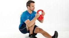 Kettlebell-Training: so baut man effektiv Muskeln mit Kettlebells auf | Krafttraining