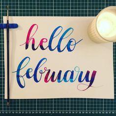 Helloooo feb' : : : #calligraphy #calligraphie #moderncalligraphy #brushcalligraphy #brushlettering  #typography #handtype #handlettering #word #font #lettering #handlettered #handwriting #brushlettered #letteringchallenge  #dailylettering #calligraphylove #design #art #inspiration #followme #brushpen #watercolor #brushscript #handwritten #lettering #calligritype #februlovely