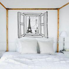*BETTINA HOLST*: Tegn et vindue på væggen...