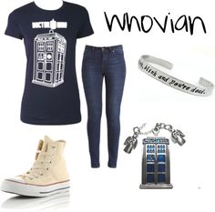 """Whovian"" by paigesinger on Polyvore"