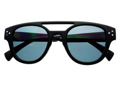 Elegant Retro Vintage Sunglasses Matte Black W1262