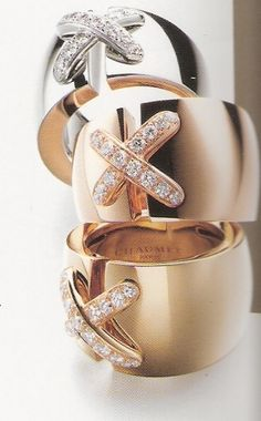 Maison Chaumet. These Chaumet rings are still on my list of faves and to buy soon. http://www.missKrizia.com