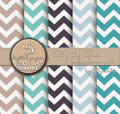 free digital paper packs in chevron, moroccan, and floral patterns