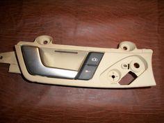 INTERIOR DOOR HANDLE AUDI A4 S4 B7 FRONT DRIVER Tan  #8H1837019A #Unbranded