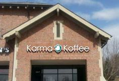 Karma Koffee, 156th and Dodge in Omaha - really good coffee and pastries, really great story behind the opening of this shop