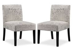 Living Room Furniture - Mariette 2-Piece Accent Chair Set