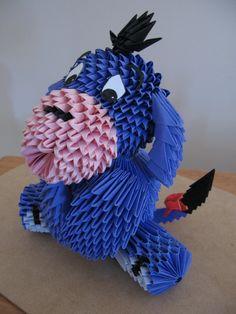 Origami Eeyore.. awesome!