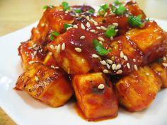 Saucy Spicy-Sweet Tofu