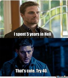 Every Monday, it's MemeMonday for Stephen Amell. This is one of the memes he posted today :)